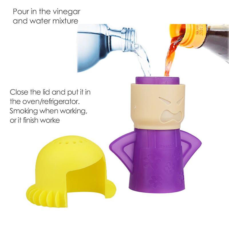 Creative Angry Mother Shaped Microwave Cleaner With Natural Steam Power to Remove Oil and Dirt 13