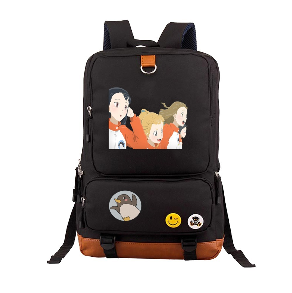 anime A Place Further Than the Universe Backpack Teenages Student School Bags Shoulder Bags Unisex Laptop Bags travel Rucksack image