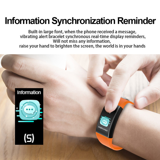 Smart Watch Body Temperature Smartwatch Ip68 Waterproof Heart Rate Fitness Tracker Smart Watches Men Women For Android IOS 2020 6