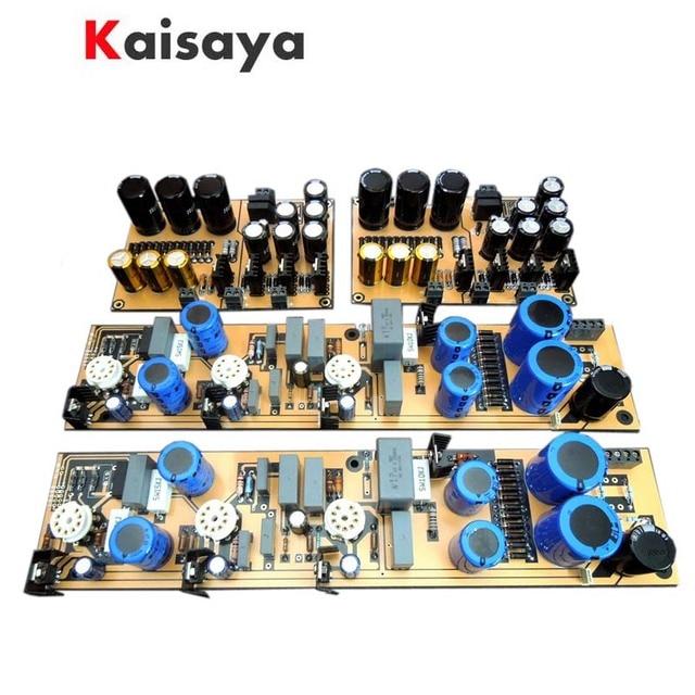 Tubo de vacío de circuito de D.Klimo de referencia alemana, HiFi MC MM, amplificador, preamplificador, Kit Diy
