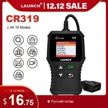 Launch X431 Creader 319 CR319 автоматический считыватель кодов полный OBDII EOBD автомобильный диагностический инструмент OBD2 сканер как Creader 6001 CR3001