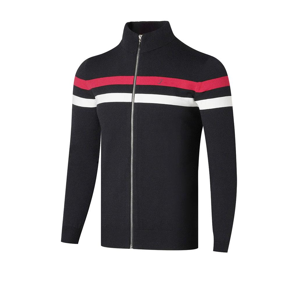 2020 New Golf Apparel T Fall/Winter Men's Long-Sleeved Cardigan Golf Sweater Rabbit Cashmere Fashion Sports Sweater Golf Jacket 1