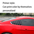 Rear Window, Blind, Triangle Blind, Sunshade, Blind, Suitable FOR Ford Mustang 2015-2020 car stickers, 2 pieces;
