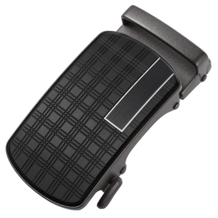 Men's Belt Head Buckle Leisure Belt Head Business Accessories Automatic Buckle Width Luxury Fashion Holographic Belts