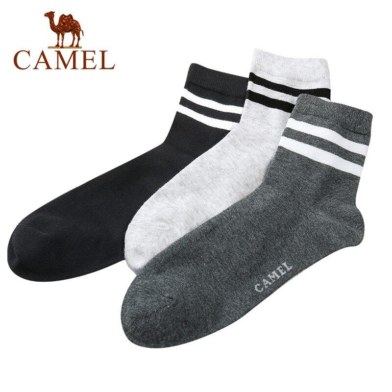 CAMEL 6Pics Men's Sports Socks Men Breathable Running Sock Fitness Socks Fashion Stocking носок Спортивные носки