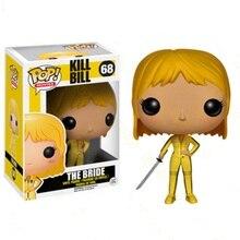 Funko pop matar bill bonecas de vinil figuras de ação coleção modelo brinquedos para crianças presente aniversário