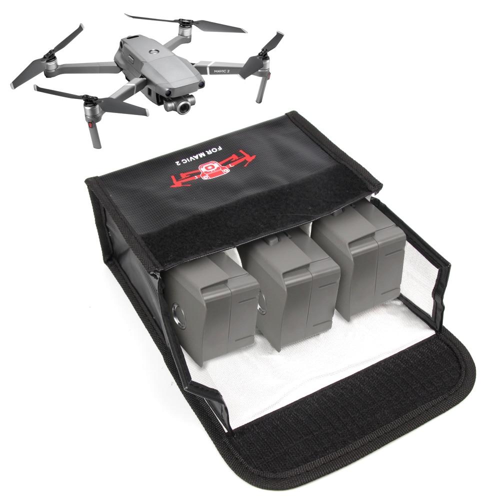 LiPo Safe Bag For DJI Mavic 2 Pro Zoom For Battery Mini Storage Case Heat Resistance Proof Radiation Transport Protection