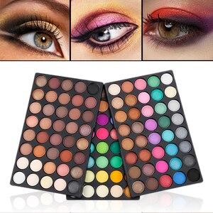 40/120 цветов блеск макияж мерцающий тени для век Палитра радужных матовых теней для век стойкая Косметика для макияжа TSLM1