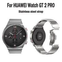 22mm Edelstahl Strap Für HUAWEI Uhr 3 GT 2 Pro EKG 2e Für Samsung Galaxy Getriebe s2 s3 ehre Magie Uhr 2 Keramik armband