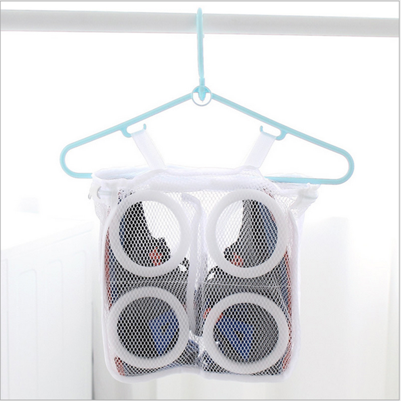 Laundry Bag Shoes Organizer Bag Sneaker Laundry Net Hanging Washing Bag Shoes Boot Cleaner Portable Laundry Washing Bags 2020NEW