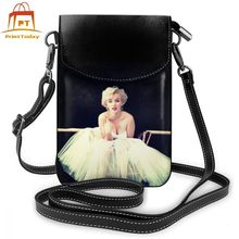 Marilyn Monroe Shoulder Bag Marilyn Monroe Leather Bag Woman High quality Women Bags Multifunction Purse