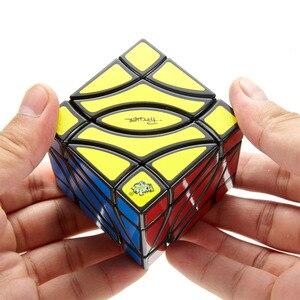 Image 5 - LanLan Pesci 4 Angolo Cubo Magico Due Pesci Professionale Neo di Velocità Di trasporto Puzzle Antistress Giocattoli Educativi Per I Bambini
