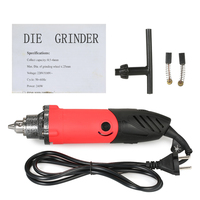 240W Multi functional Electric Grinder Drill 6 Speed Variable Speed Polishing Machine Rotary Tool Milling Polishing Engraving