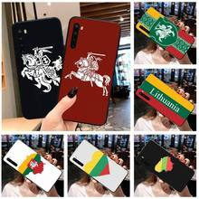 I love Lithuania flag banner Soft Phone Case Capa for Xiaomi