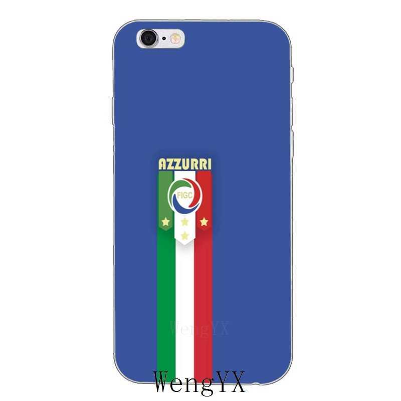 Italiaanse Voetbal Team Logo Cover Case Voor Nokia 3 5 6 7 Plus 8 Htc Een X9 A9 M10 m8 M9 M7 E9 U11 U12 Desire 830 820 816