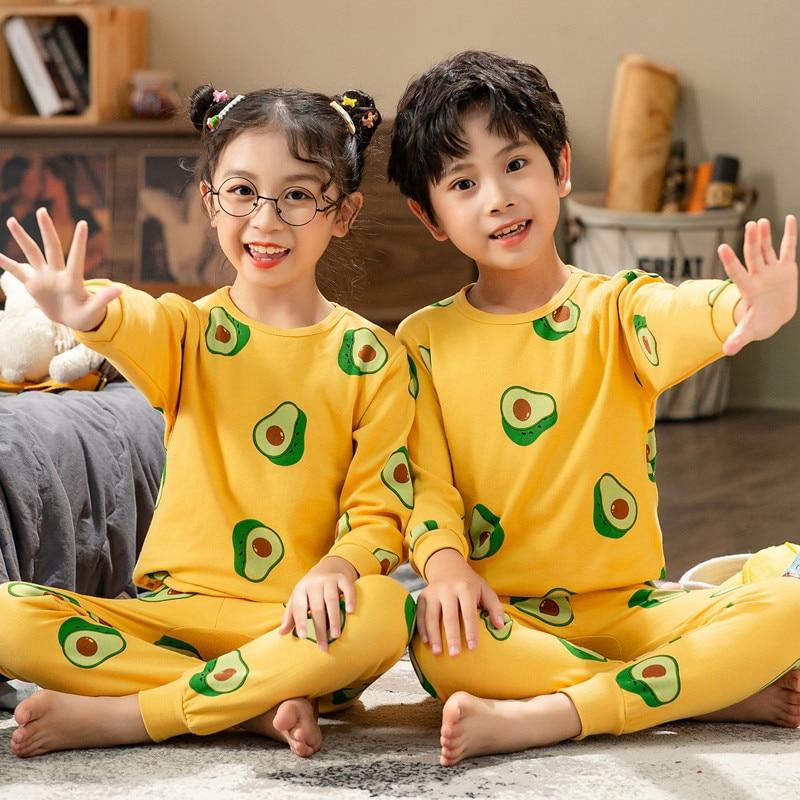 Children Pajamas Boys Totoro Cotton Clothes Pants Set Cartoon Sleepwear Kids Pajamas For Girls Toddler Baby Outfits Child Pyjama 5