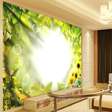 Romantic Sunflower Wall Hanging Tapestry Watercolor Tree Hippie Cloth Bohemian Decor Mandala Curtain New