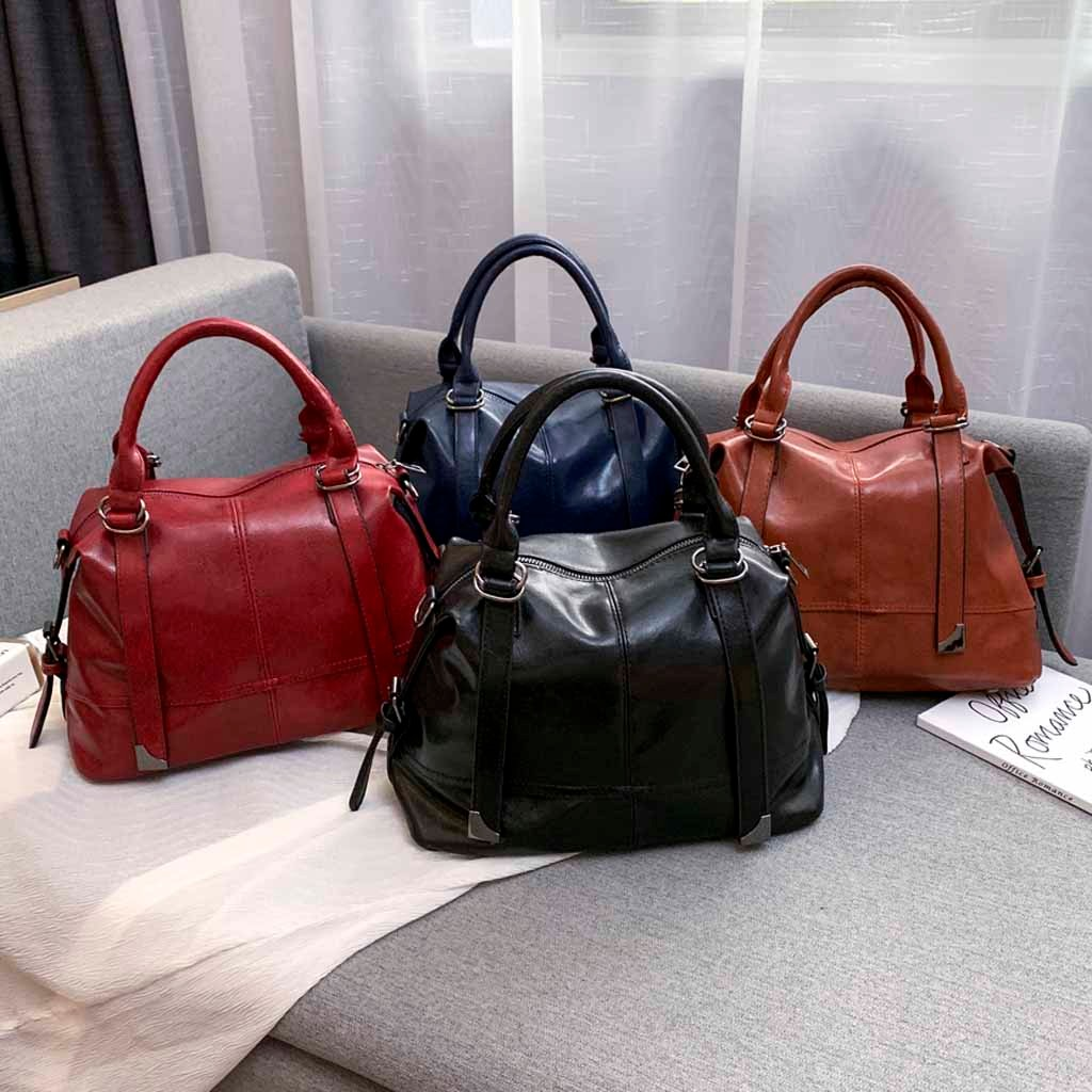 Women Stree Handbags Messenger Bags 2019 New Wild Fashion Leather Shoulder Bags Messenger Bag Simple Handbag Big Tote Bag