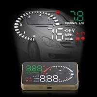 3 Inch  X6 Ultra-clear Auto Car HUD Head Up Display with Speed Engine Speed Fuel Consumption Overspeed Alarm Function