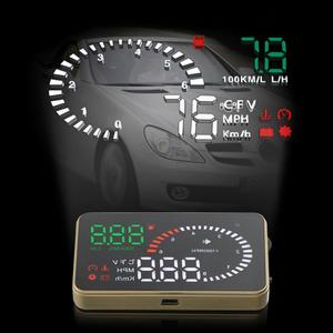 3 Inch X6 Ultra-clear Auto Car HUD Head Up Display with Speed Engine Speed Fuel Consumption Overspeed Alarm Function(China)