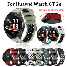 For Huawei gt 2e Strap Silicone Wriststrap Bracelet 22mm official style Band For huawei watch gt 2e 46mm replacement Watchband