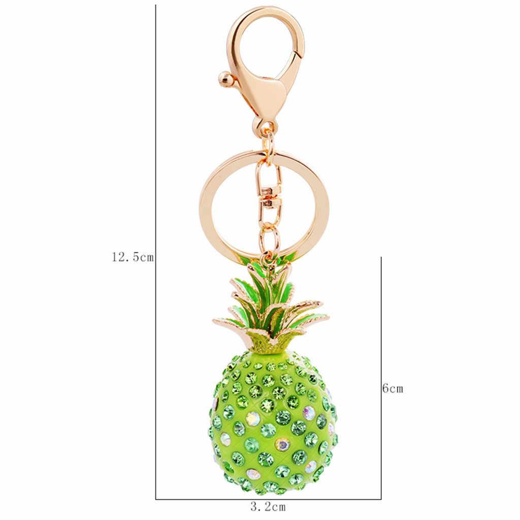 Sleutelhanger Брелок Decoratie Accessoires Sleutelhanger Creative Hars Ananas Vormige Meisje Bag Charm Hot Koop Gift Hanger Gratis Schip