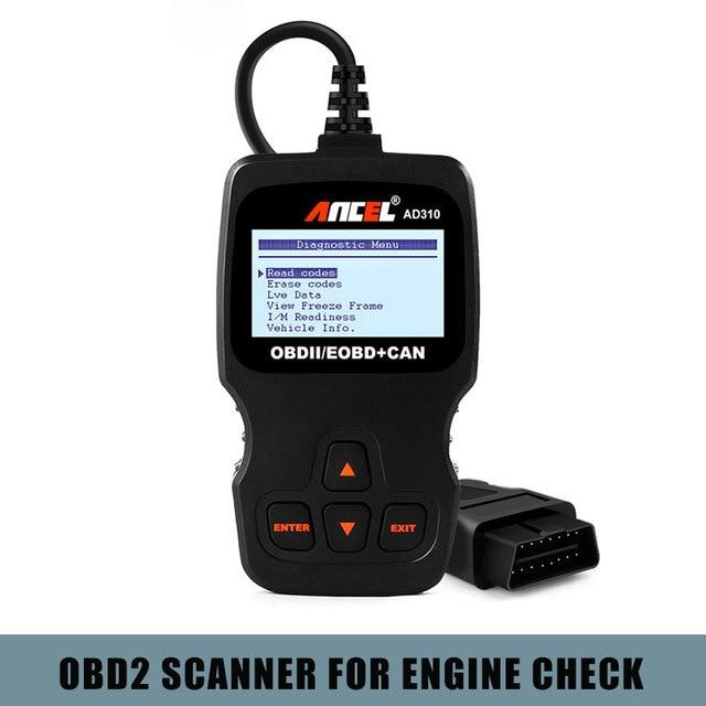 Ancel AD310 OBD2 Automotive Scanner OBD 2 Fehler Code Reader Auto diagnosewerkzeug Auto Scanner Freies Update OBD2 Scanner