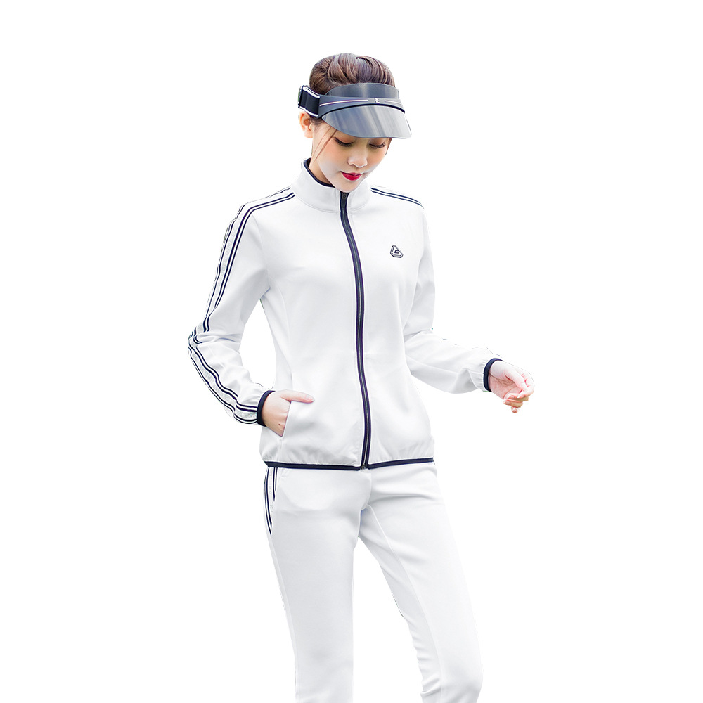 Pgm Golf Wear Training Shirt Women Jacket Spring Autumn Apparel Windbreaker Pants Sports Trousers Tennis Lady Zipper Clothing