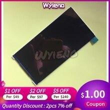 Wyieno 100% BQ 모바일 BQ5518G 청바지 LCD 디스플레이 스크린 센서 패널 테스트