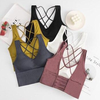 Tops für Mädchen Sport Bh Yoga Sport Unterwäsche 1