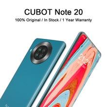 Cubot nota 20 celular 6.5 hd hd display 4200mah bateria nfc telefones inteligentes android 10.0 câmera traseira quad celulares 64gb rom