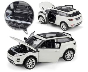 Image 3 - ويلي نموذج سيارة 1:24 مقياس ديكاست سيارة لاند روفر رينج روفر إيفوك SUV محاكي لعبة معدنيّة سيارة لصبي هدية مجموعة
