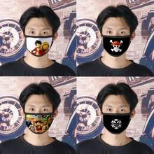 Costume-Accessories Skull-Masks Monkey One-Piece Pirate-Mask Anime Cosplay Luffy Sanji