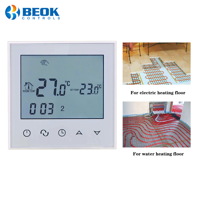 Smart Room Thermostat For Electric Floor Heating And Water Floor Heating Temperature Controller 220-240V
