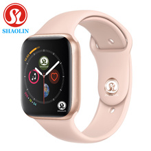Smartwatch Series 4 Bluetooth Men Smart Watch with Phone Call Remote Camera for