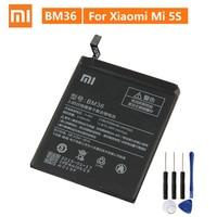 Xiaomi original bateria de substituição bm36 para mi 5S mi5s telefone genuíno bateria + ferramentas 3200 mah|Baterias p/ telefone celular| |  -