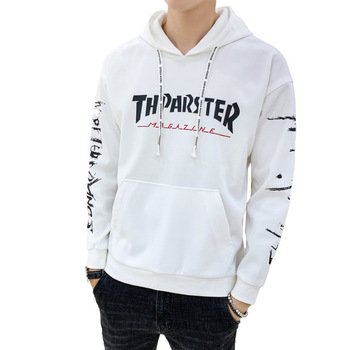 autumn  new style  men's  fleece  exercise  relaxation  hoodie  long sleeve  loose  youth  men's wear  coat jacket