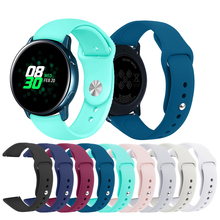 20mm strap for Samsung Galaxy Active 2 40mm 44mm Active S2 classic band For Amazfit BIP lIte GTR 42mm watch band silicone Straps 20mm smart watch bands compatible for amazfit gtr 42mm smartwatch samsung galaxy watch active active 2 huawei watch 2 watch