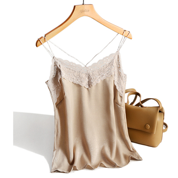 zjaiss Halter Top Women Lace Camisoles Casual Sleeveless Top Ladies Tank Tops Women Camisole 2020 Summer Style Elegant Cami Top цена 2017
