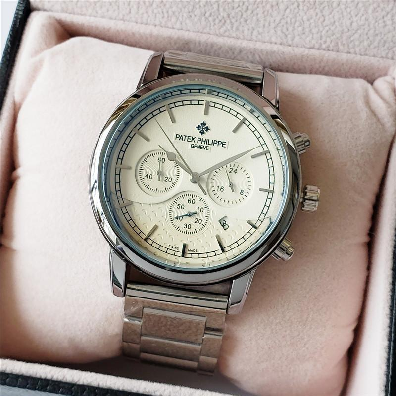Mens Watches Top Luxury Brand Analog Watch Men Stainless Steel Waterproof Quartz Wristwatch Date Relogio Masculino 098