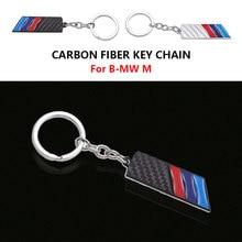 Bens Anel KeyChain Do Carro de Fibra De carbono para BMW E46 E39 E38 E90 E60 E36 F30 E30 E31 E34 F10 F20 E87 E92 E91 X1 X5 X3 M M3 5 G01 G30