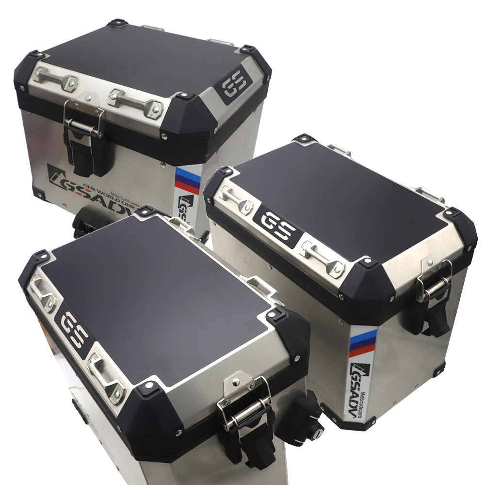 For Hard Luggage Cases For BMW <font><b>GS</b></font> 1200 LC Adventure For BMW <font><b>R1200GS</b></font> LC Adventure <font><b>Motorcycles</b></font> Side Case Pads Pannier Cover Set image