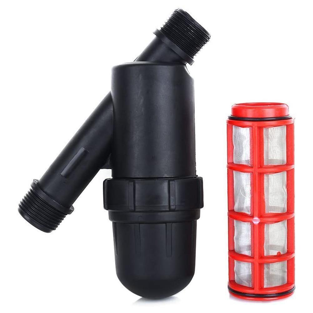 120Mesh 3/4In Bewässerung Filter Edelstahl Mesh Wasser Klimaanlage Sieb Für Gartenarbeit Filter Tropf Bewässerung Tank Pumpe