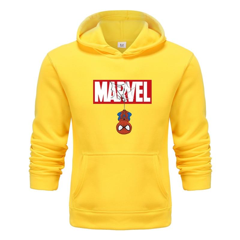New Brand Hoodies Men Ajax For MARVEL Printed Hood Men's Hoodies Autumn Winer Hoody Sweatshirts Men Fashion Hoodie Streetwear
