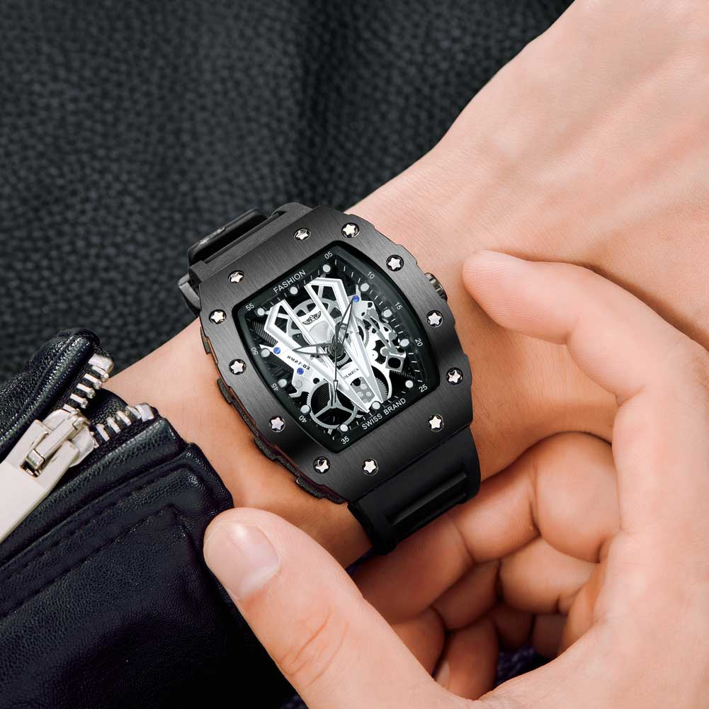 2019 novo topo masculino relógios de quartzo