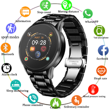 LIGE Smart Watch Men IP68 Waterproof Reloj Hombre Mode SmartWatch With ECG PPG B