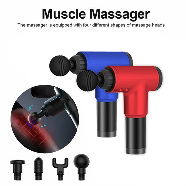 Physiotherapy Muscle Massage Gun Health Massage Deep Relaxation Device High Frequency Vibration Impact Fascia Gun