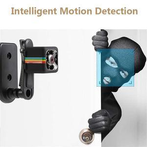 Image 3 - SQ11 HD 720P Mini samochód DV dvr aparat kamera na deskę rozdzielczą IR noktowizor kamera Sport DV wideo 720P wideorejestrator samochodowy kamera Motion