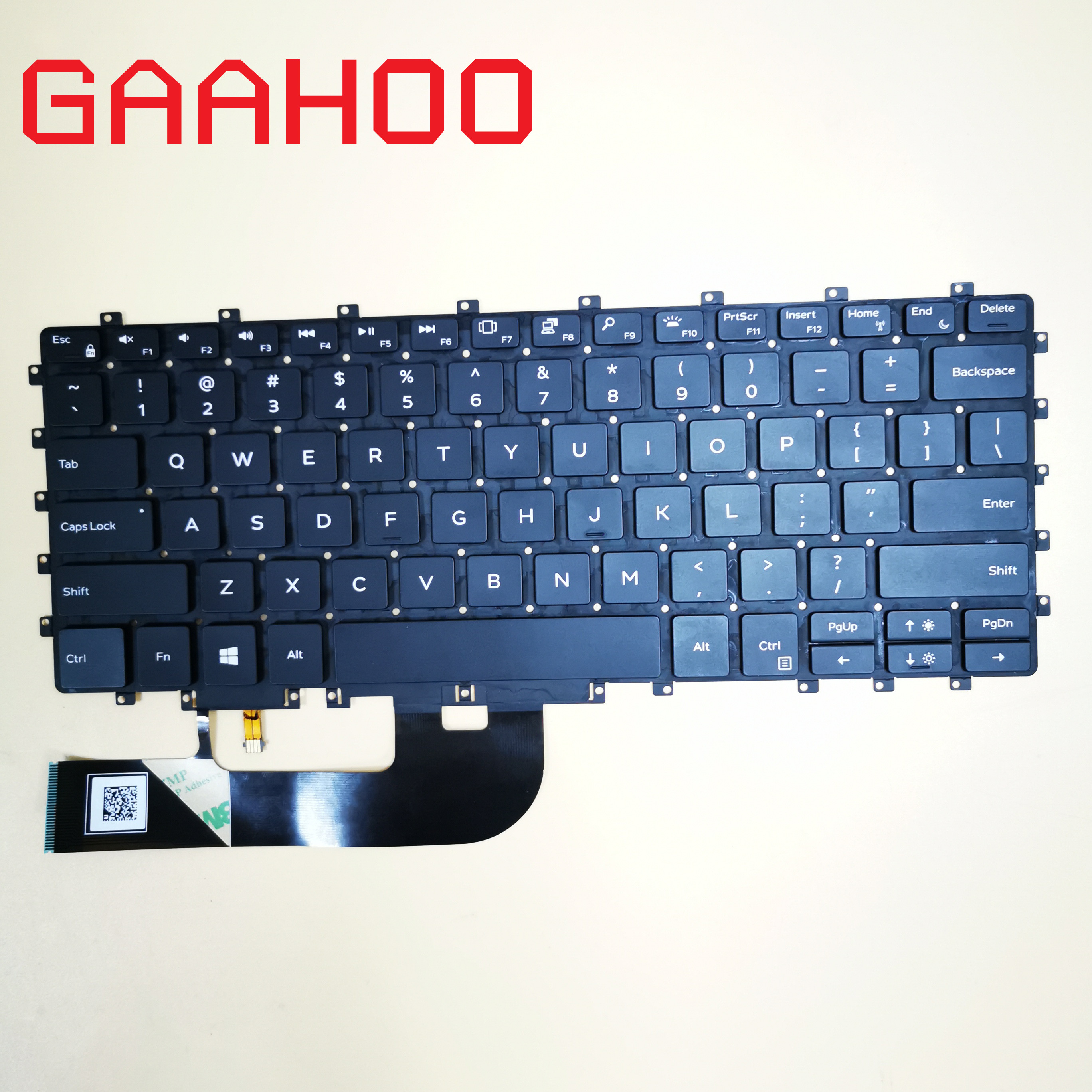 Brand New Original Laptop US Backlight Keyboard For Dell XPS15  9575 7590 2IN1 Laptop Keyboard With Backlit  0HC1GN HC1GN
