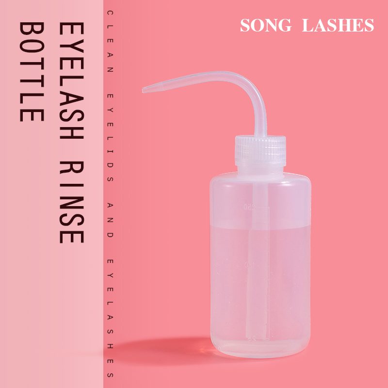 SONG LASHES Make Up Tool For Eyelash Extensions Cleaning Bottle For Clean Eyelash With Distilled Water Or Saline Eyelashes Lash
